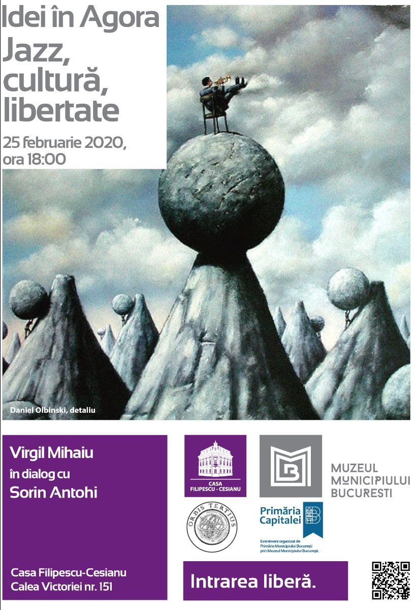 Trei evenimente importante în Bucureşti: Idei în Agora, o expoziţie şi o conferinţă pe tema Revoluţiei