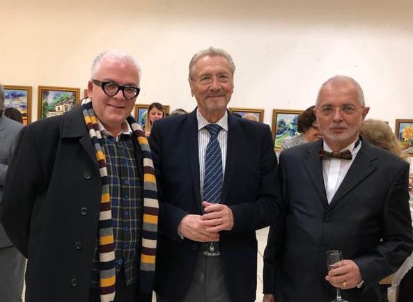 Expoziţia de pictură a lui Ioan Cezar Corâci, membru de onoare Export Club